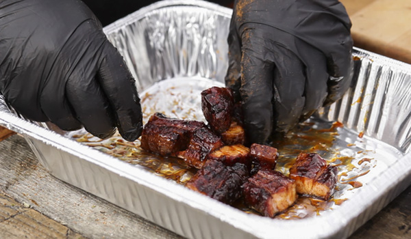 Pork Belly Burnt Ends Green Mountain Grills